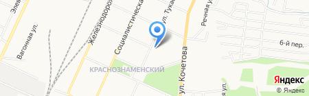 Гимназия №6 на карте Стерлитамака