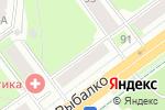 Схема проезда до компании Зоотеремок в Перми