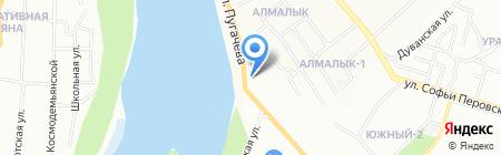 Гросс-Сервис на карте Уфы
