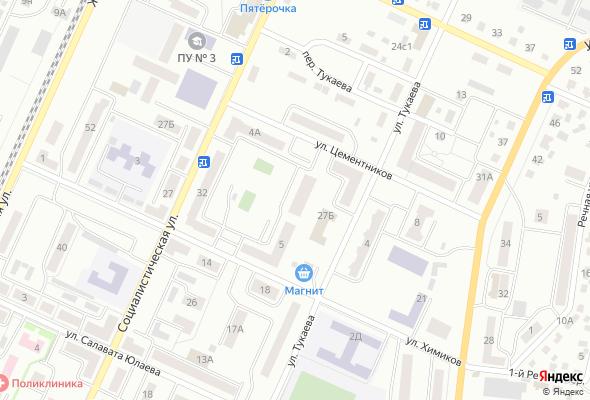 купить квартиру в ЖК по ул. Тукаева, 27