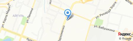 ПрофГруппа на карте Уфы