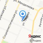 Детская музыкальная школа №1 на карте Стерлитамака