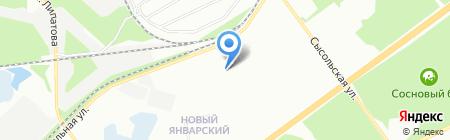 Ласьва-92 на карте Перми