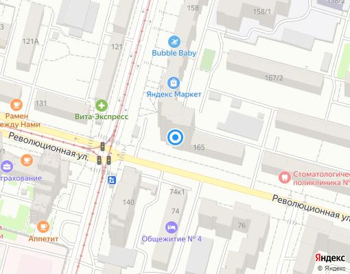 Товарищество собственников жилья «Революционная 163» на карте Уфы