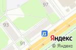 Схема проезда до компании КБ Ростфинанс в Перми