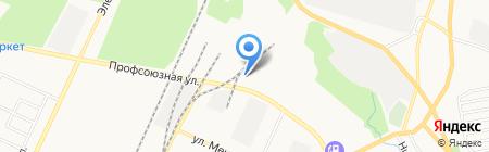Серебряный ключ на карте Стерлитамака