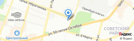 No-city.ru на карте Уфы
