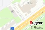 Схема проезда до компании Магазин фастфудной продукции в Перми