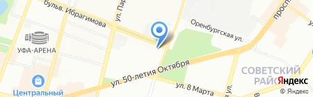 АртПроект на карте Уфы