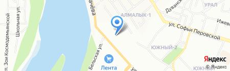 АВМ на карте Уфы