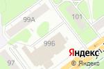 Схема проезда до компании Ars-Wear в Перми