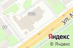 Схема проезда до компании Адреналин в Перми