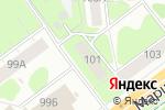 Схема проезда до компании АКБ Урал ФД в Перми
