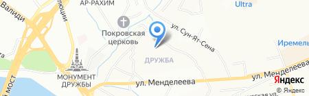 Детский сад №10 на карте Уфы