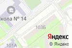 Схема проезда до компании Beauty в Перми