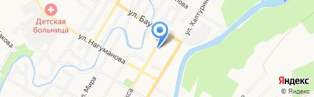 Скорая медицинская помощь на карте Стерлитамака