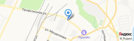 СТРОЙТЕХИНВЕСТ на карте Стерлитамака