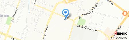 Апогей на карте Уфы