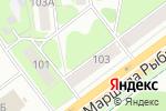 Схема проезда до компании Second-hand в Перми