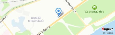 Ки-суши на карте Перми