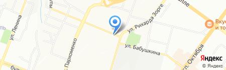 Уфимский МУП на карте Уфы