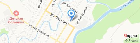 Интера на карте Стерлитамака