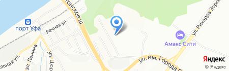 Неон-Мастер на карте Уфы