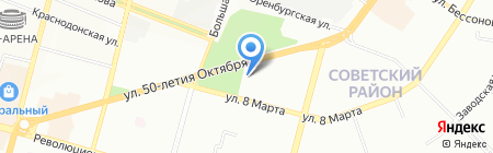 Планета на карте Уфы
