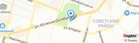 Белорус-М на карте Уфы