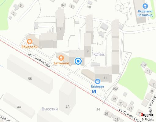 Управляющая компания «СервисСтройИнвест» на карте Уфы