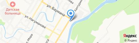 Вощина на карте Стерлитамака