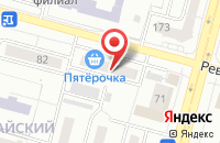 Схема проезда до компании Уфимская Спутниковая Связь в Уфе