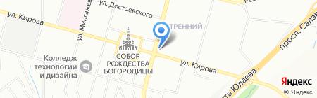 Во! на карте Уфы