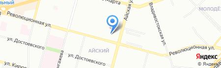 Средняя общеобразовательная школа №44 на карте Уфы