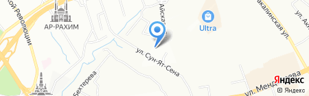 Александрия на карте Уфы