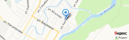 Акварель на карте Стерлитамака