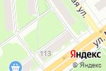 Схема проезда до компании Мегри в Перми