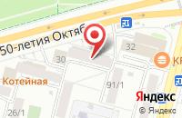 Схема проезда до компании Сувенир в Уфе