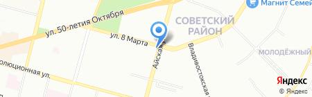 Аптека.ру на карте Уфы