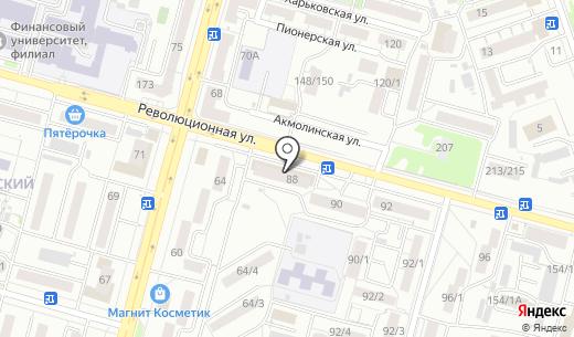 Банкомат МТС-Банк. Схема проезда в Уфе