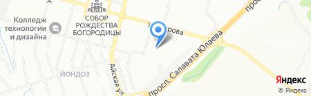 Совтехстром на карте Уфы