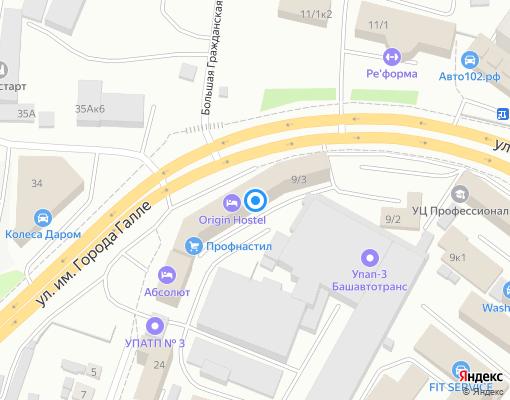 Управляющая компания «Эталон» на карте Уфы