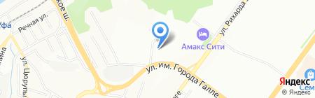 Стройинвест на карте Уфы