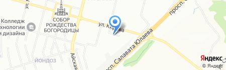 ИНФОДОР на карте Уфы