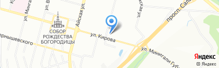 Информ-Эксперт на карте Уфы