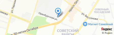 Колакс-М на карте Уфы