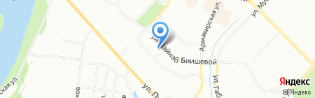 Жилой Квартал на карте Уфы