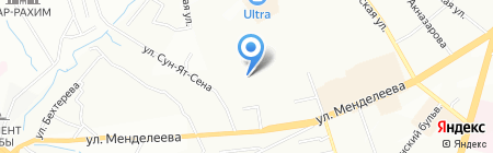 АЗС Премьер на карте Уфы