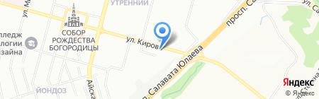 ЭкоСтройСети на карте Уфы