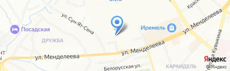 Атлант на карте Уфы